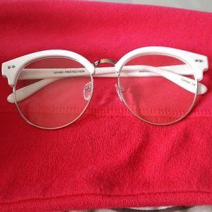 vintage specs white